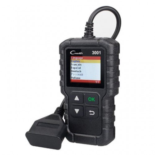 Launch Creader 3001 OBDII / EOBD Engine Code Scanner Reset Diagnostic UK Tool