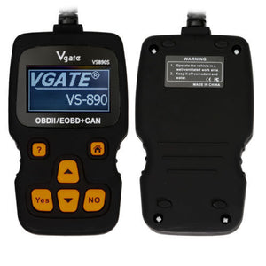 Vgate Vs890s Fault Code Reader Engine Scanner Diagnostic Reset Tool OBD 2 CAN BUS EOBD