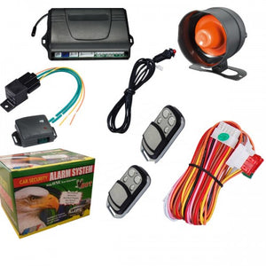 Remote Central Locking Car Alarm And Immobiliser With Electric Boot Release And Anti Hijack