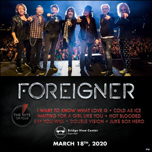 Pair of Tickets to Foreigner