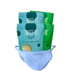 Variety Kit - Basket, Napkin & 4 Arepa Packs (2 Original & 2 Chia Flaxseed)
