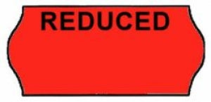CT4 Reduced 26mm x 12mm Price Gun Label