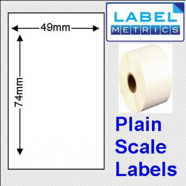 Avery M Series Compatible Thermal Scale Labels 49x74mm (10 Rolls - 5000 Labels)