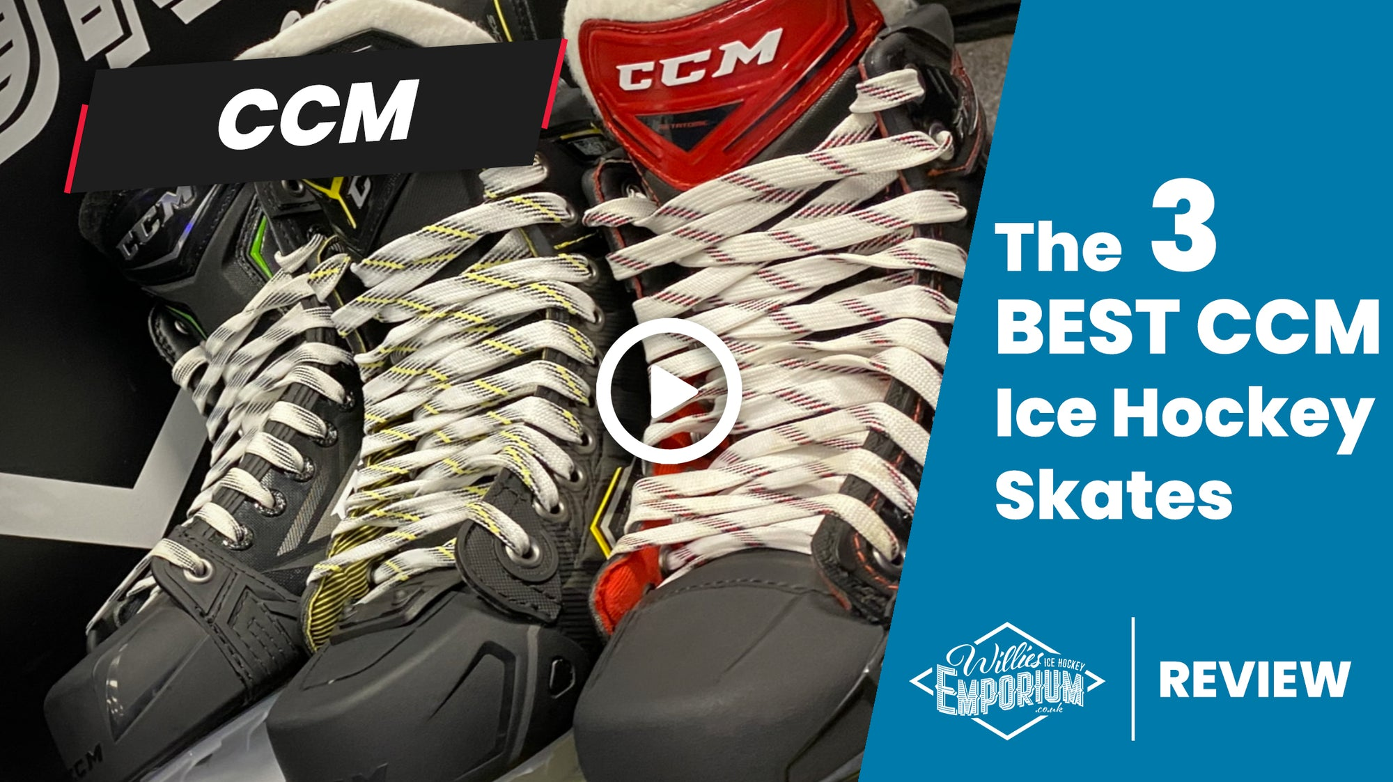 The 3 Best CCM Ice Hockey Skates