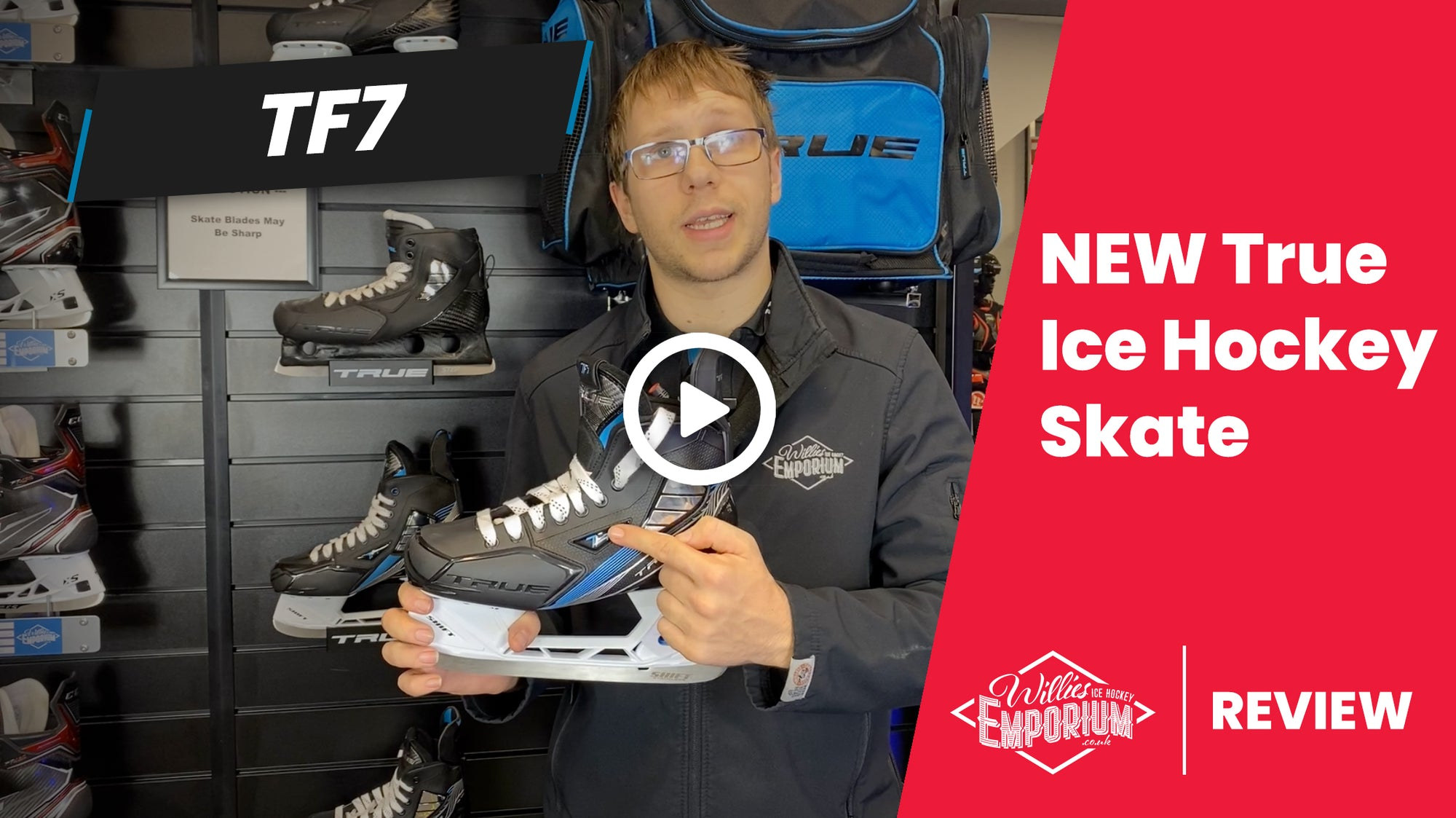 NEW True TF7 Ice Hockey Skates