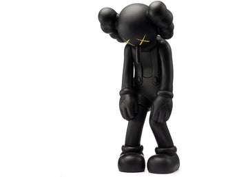 KAWS SMALL LIE COMPANION VINYL FIGURE BLACK