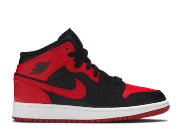 AIR JORDAN 1 MID 'BANNED' GS