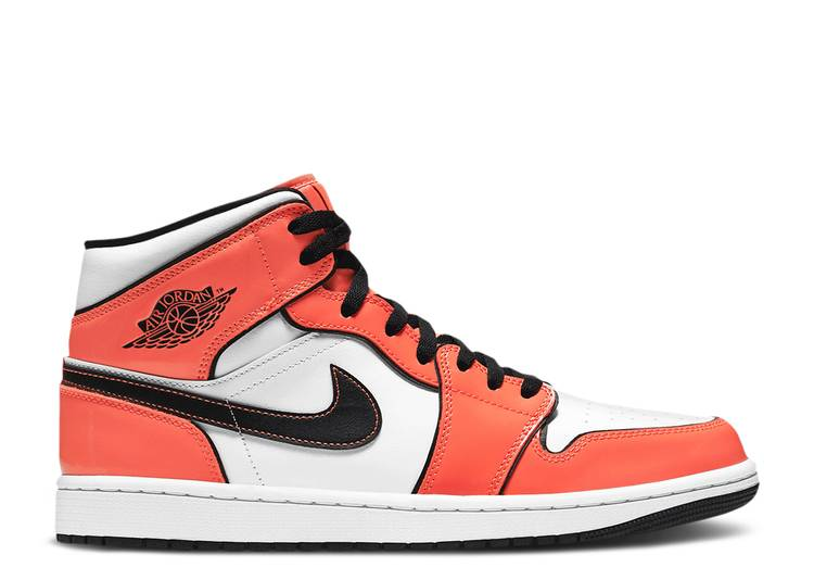 AIR JORDAN 1 MID SE 'TURF ORANGE'