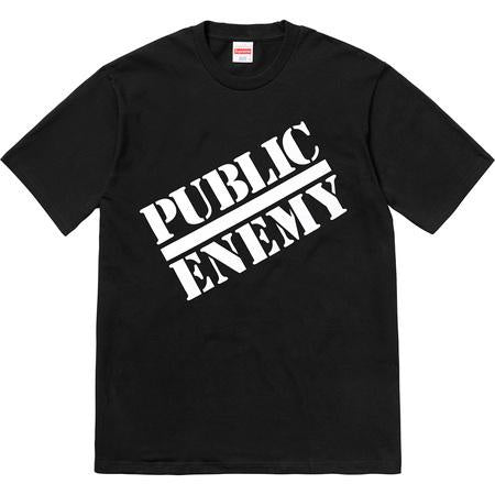 SUPREME UNDERCOVER/PUBLIC ENEMY TEE BLACK