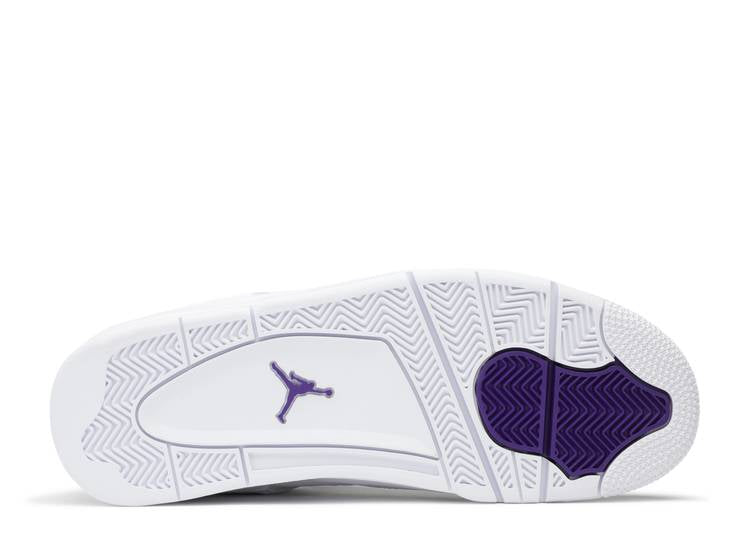AIR JORDAN 4 RETRO 'PURPLE METALLIC'