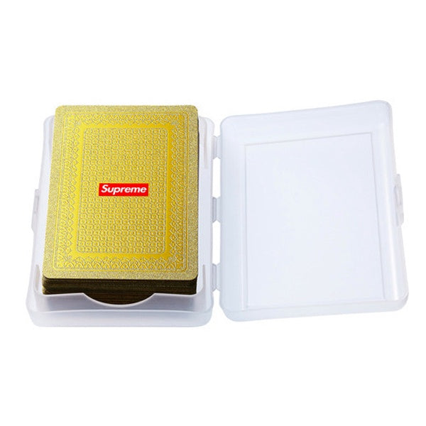 SUPREME GOLD PLAYING CARDS