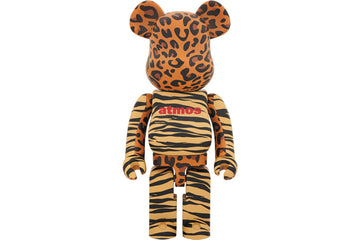 BEARBRICK X ATMOS ANIMAL PRINT 1000%