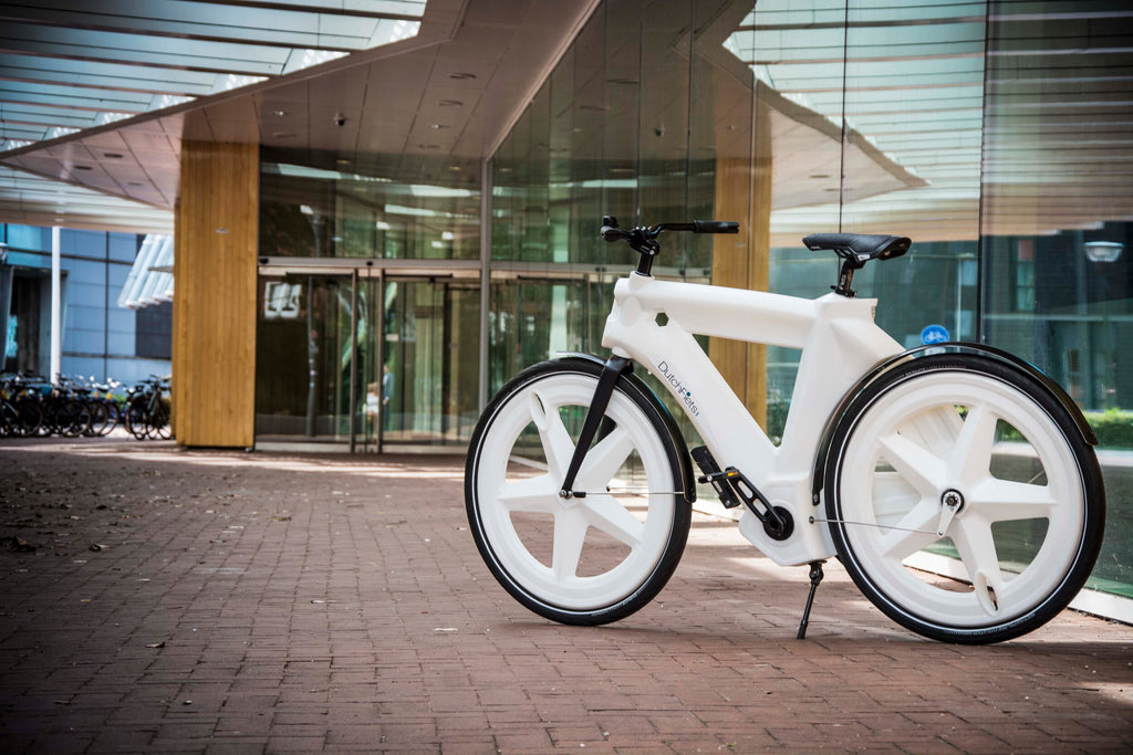 Dutchfiets bike from recycled plastic