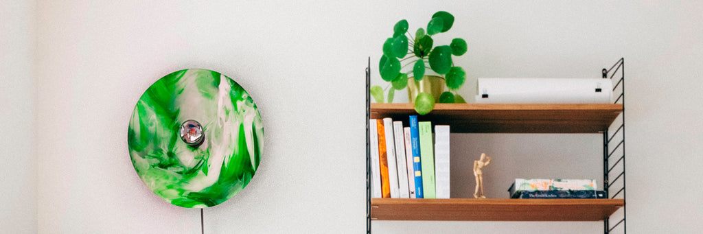Polimeer Sustainable Green Wall Lamp