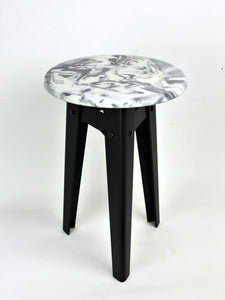 Moonlet Stool - Polimarble