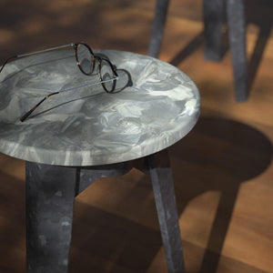 Moonlet Stool - Polimeer