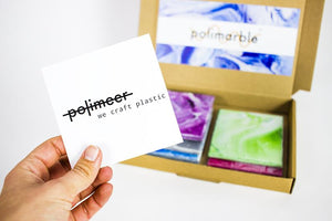 Sample Box - set of 5 - Polimeer