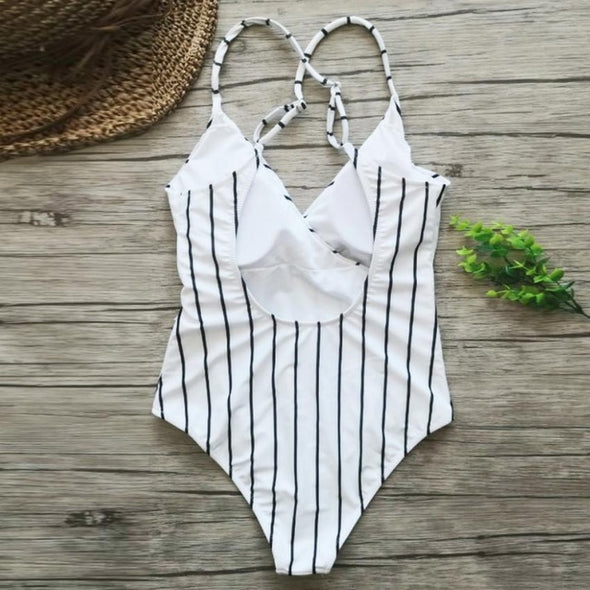 Beach Chic One Piece Suit
