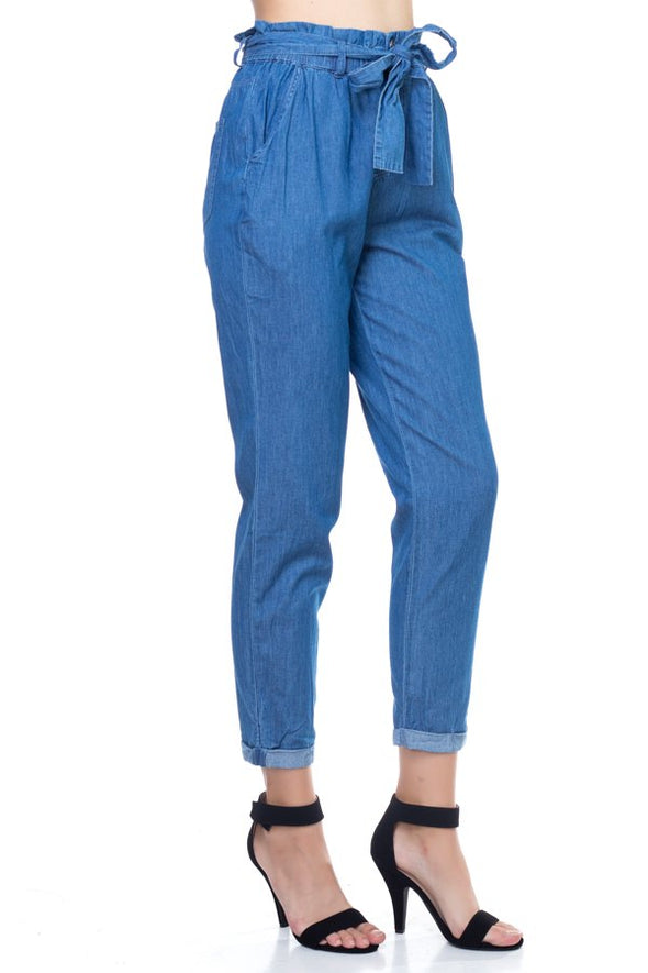 Carmen High Waisted Denim Pants