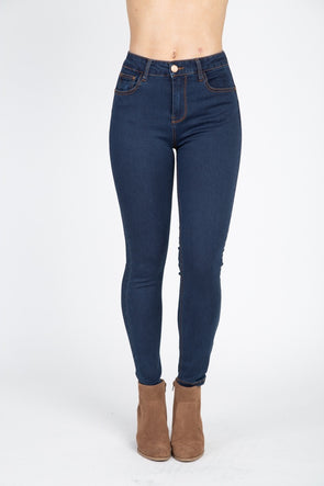 Loving High Rise Skinny Jeans