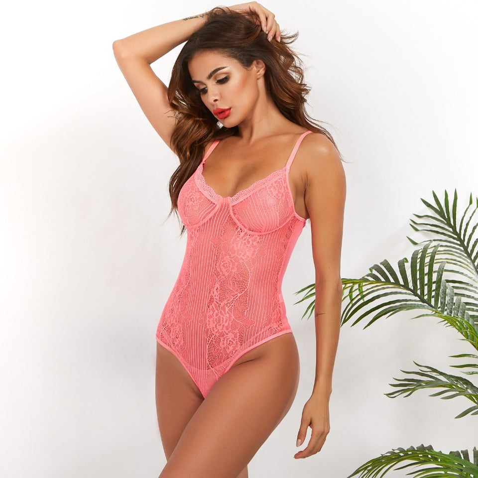 Bodysuit Renda - Efashion