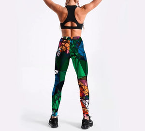 Legging Design Diamante - Efashion