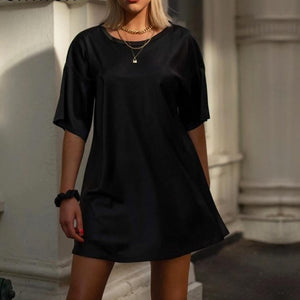 Vestido Mini T-Shirt Dress - Espavo store