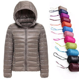 Jaqueta Winter Ultralight Com Capuz