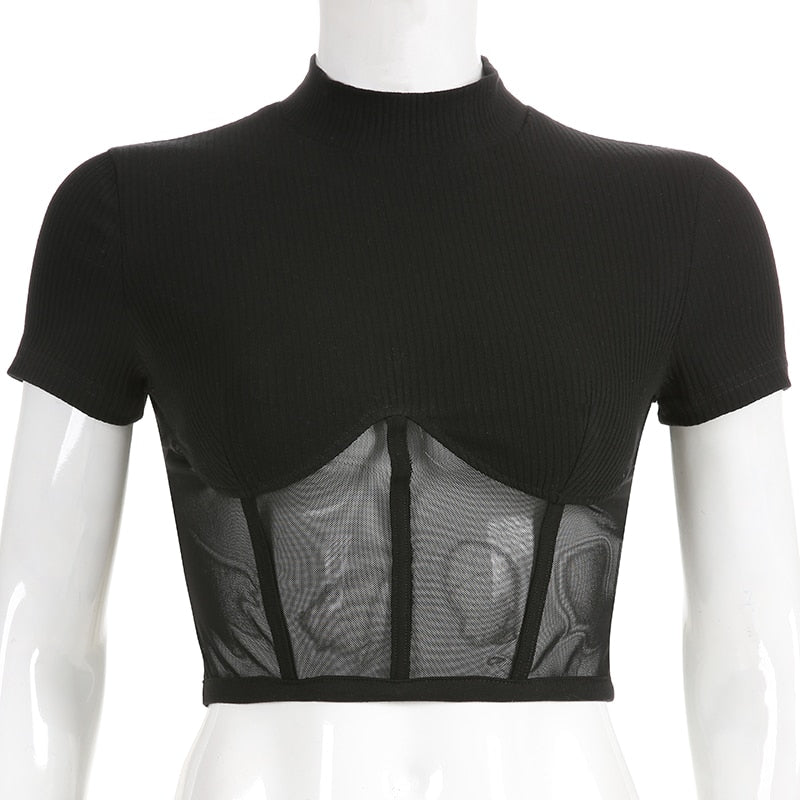 Cropped Tee Shirt Kylie