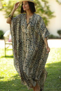 Kaftan Animal Print- Cobra - Plus Size