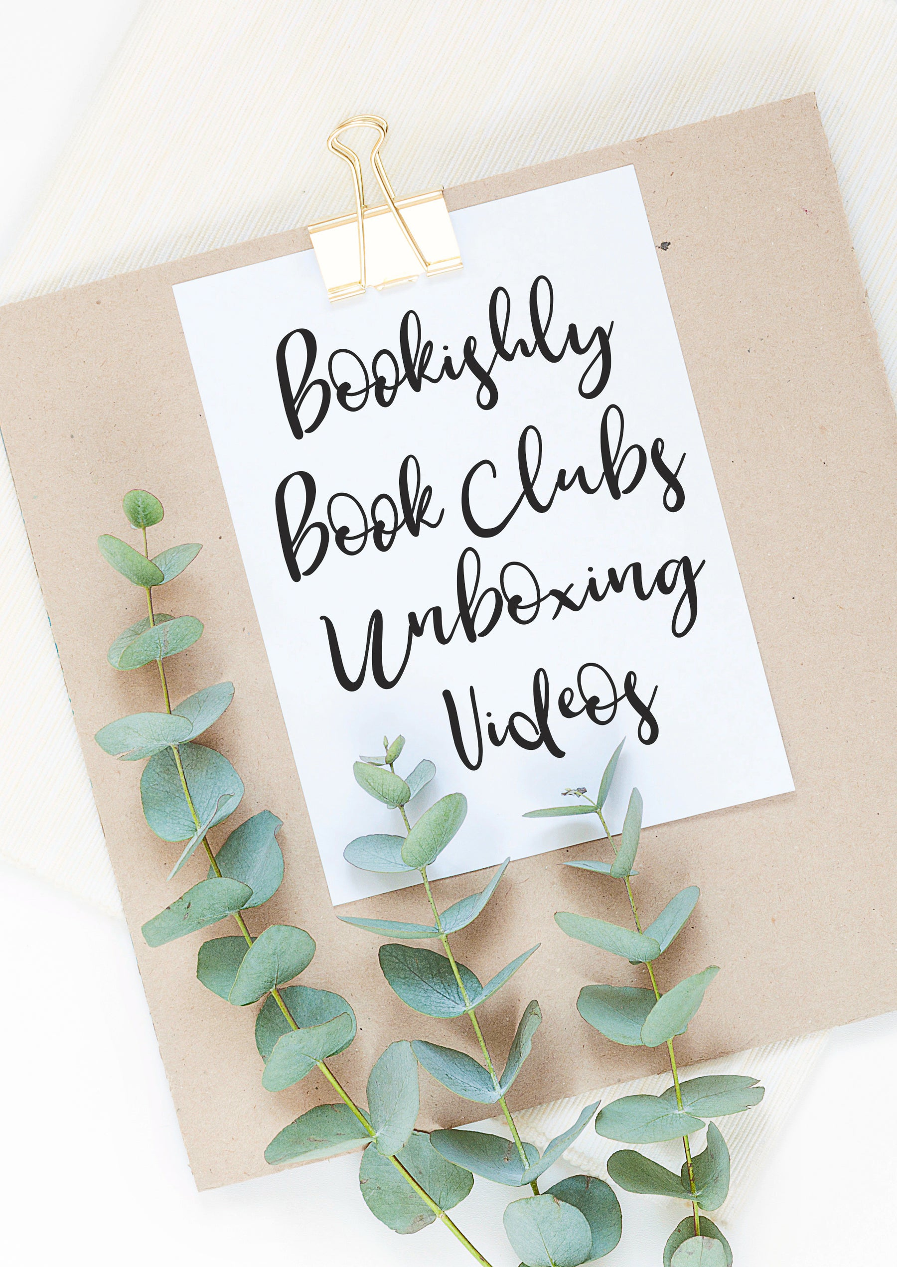 The Bookishly Book Club Subscriptions - Unboxing Videos