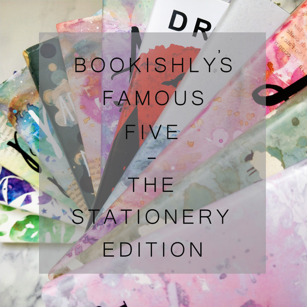 National Stationery Week - Bookishly's Famous Five