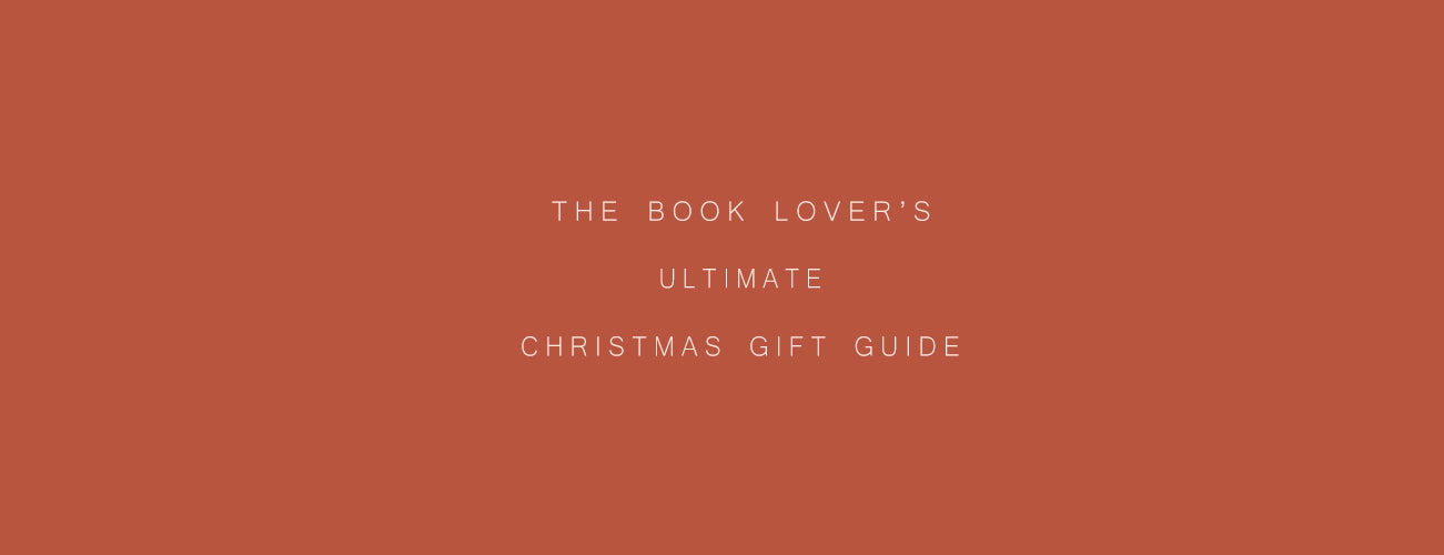The Book Lover's Ultimate Christmas Gift Guide