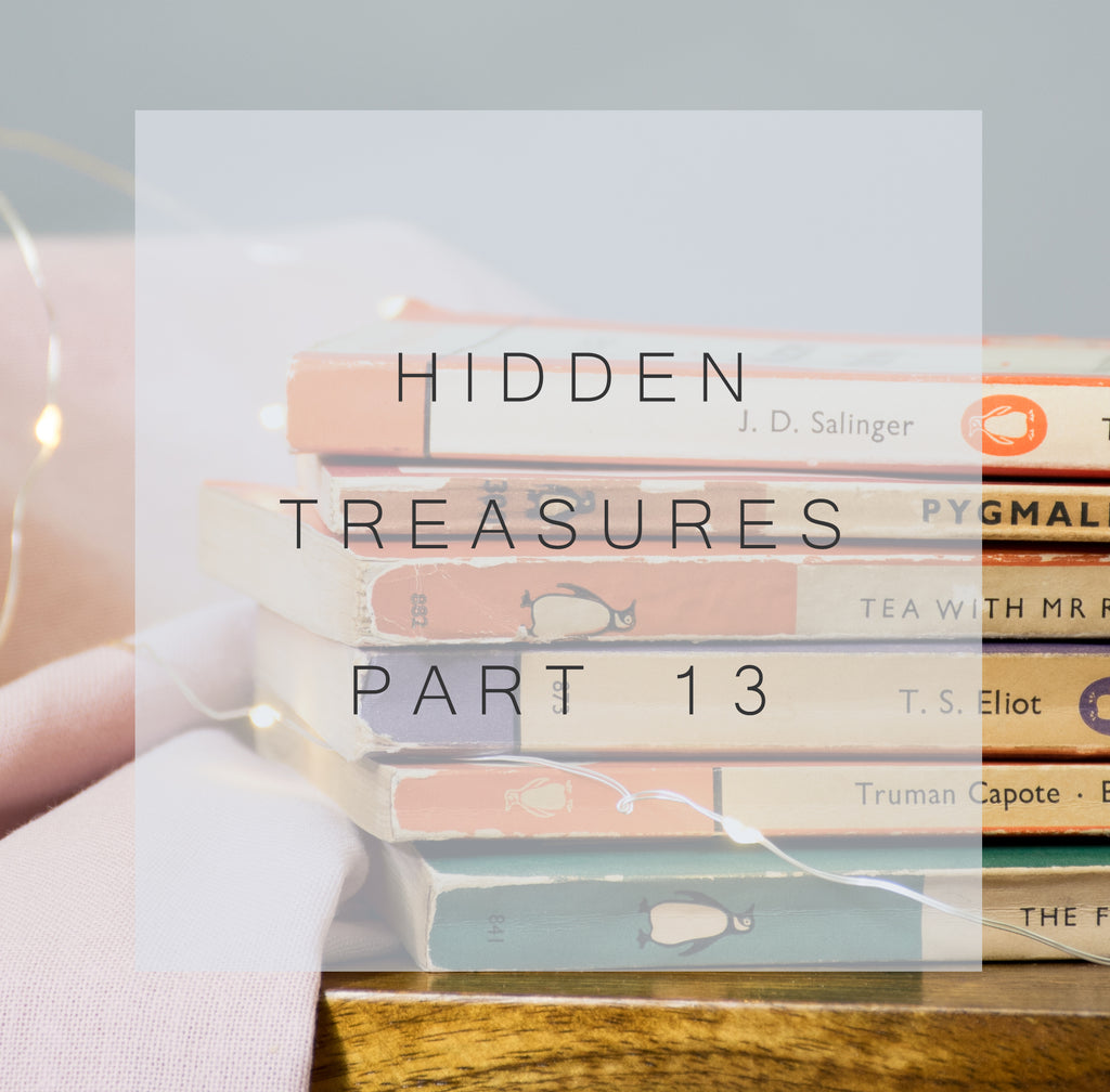 Hidden Treasures - Part Thirteen