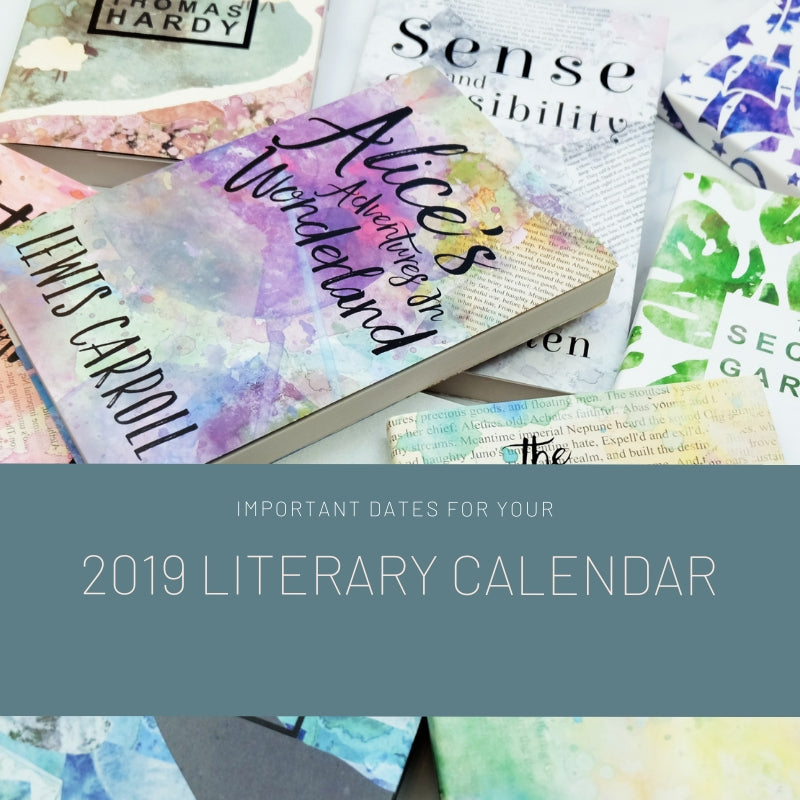 Important Dates For Your 2019 Literary Calendar. 🗓️