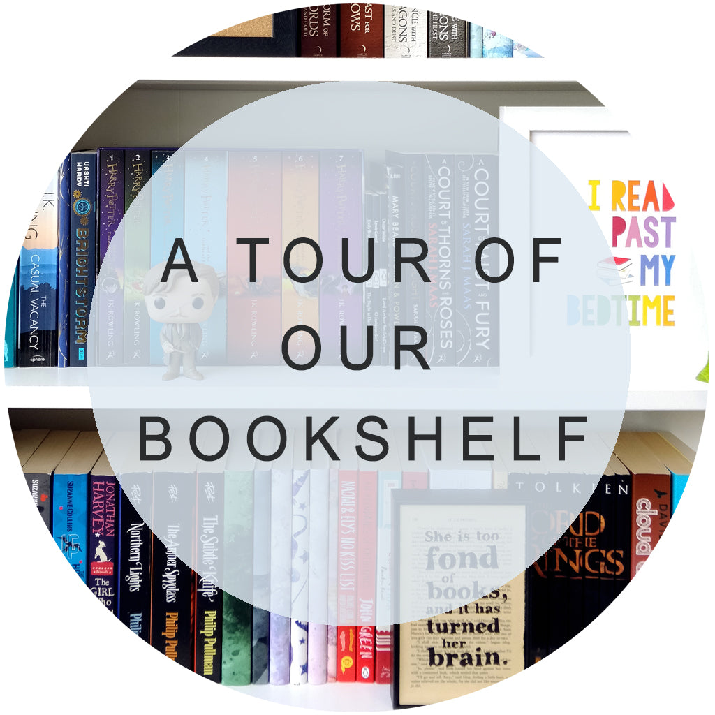 A Tour Of Our Bookshelf!