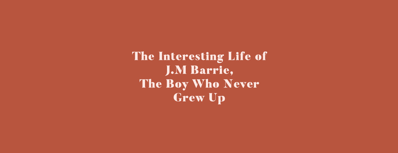 Happy Birthday, J.M Barrie. The Boy Who Never Grew Up. ✨