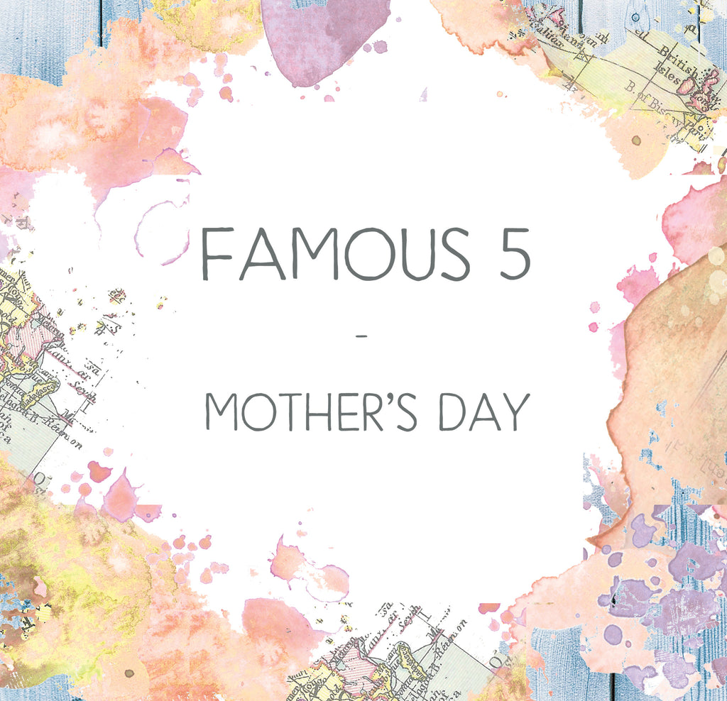 Bookishly's Famous Five - Mother's Day Edition