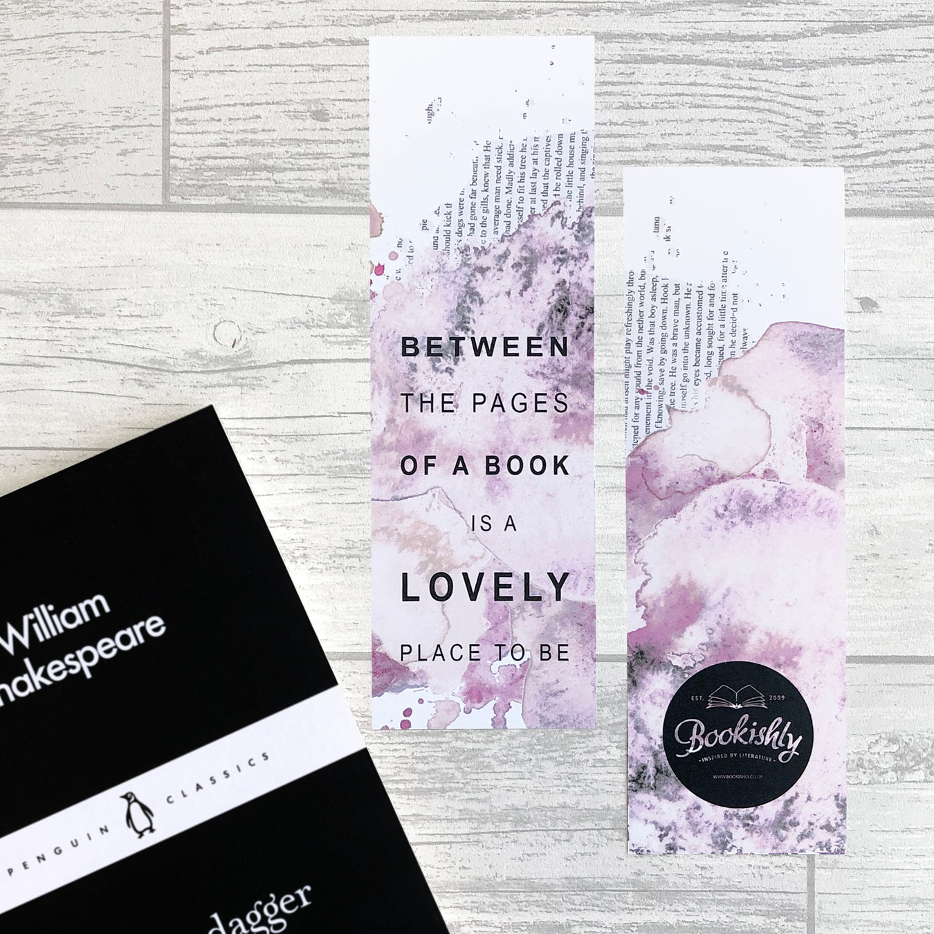 literary quote bookmark gift bookmark set