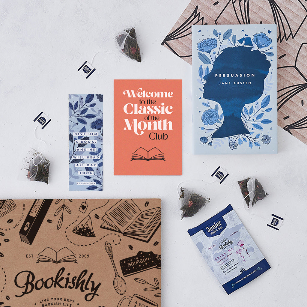 UK book subscriptions, shipped worldwide, with a variety of options on offer. Vintage books, new books, tea, coffee etc. Choose your favourite monthly book box.