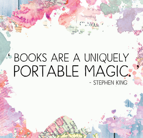 books are uniquely portable magic