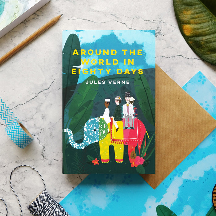 Around the World in Eighty Days with Exclusive Bookishly Cover