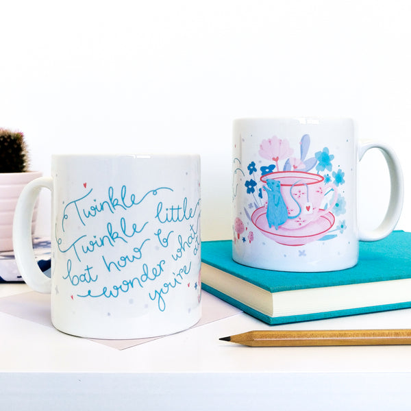 Alice in Wonderland Dormouse Mug