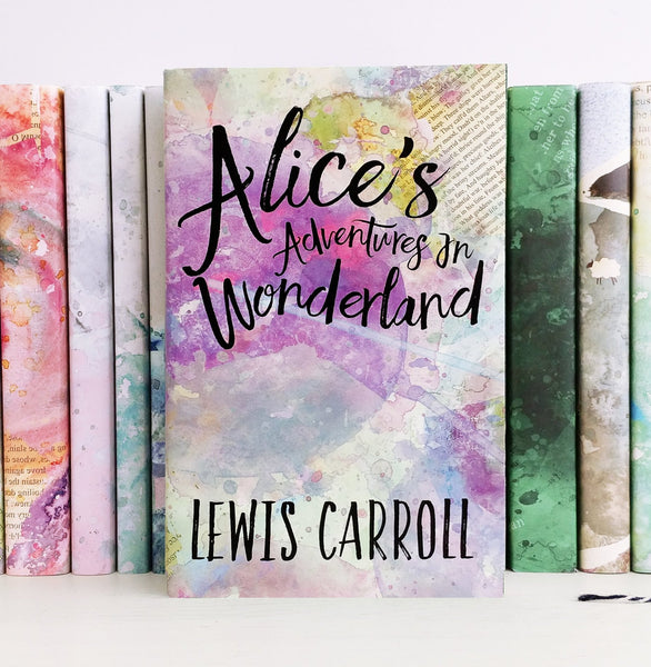 Lewis Carroll's Alice in Wonderland Exclusive Book Cover