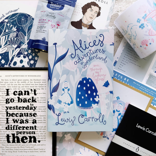 Alice's Adventures in Wonderland - The Past Bookishly Crate