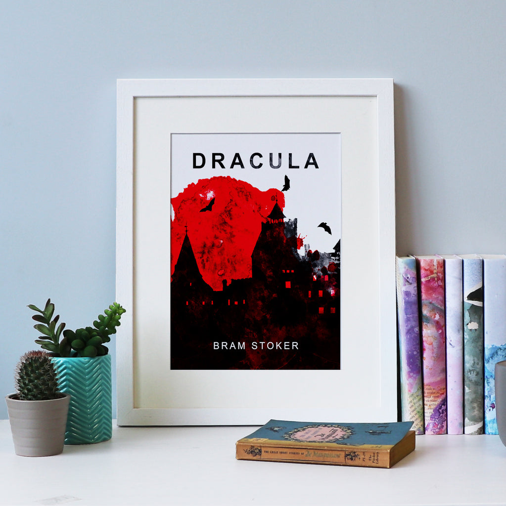 Dracula by Bram Stoker - Book Cover Print