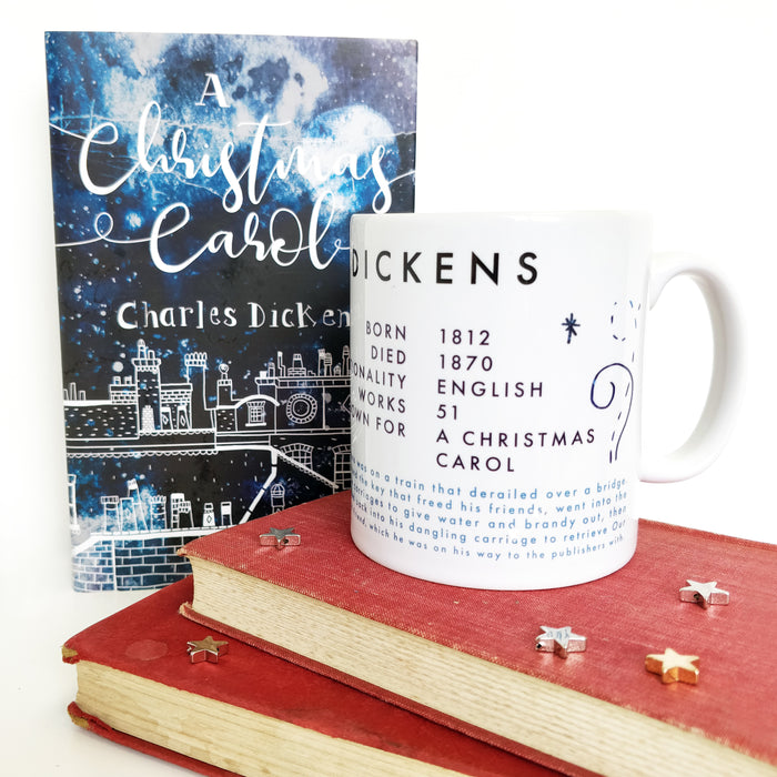 Charles Dickens Book Lover Author Mug