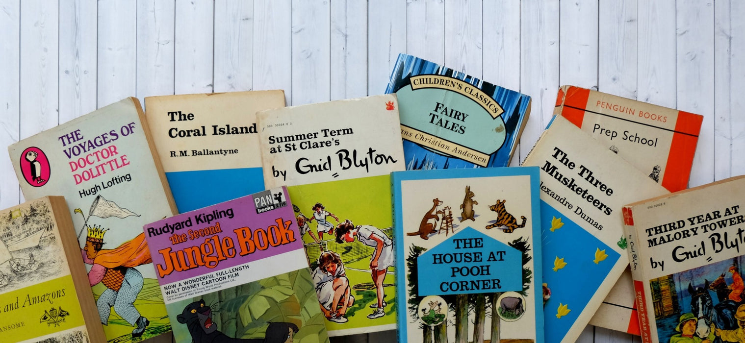 Vintage Children's Mini Library