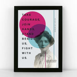Votes for Women Suffragette Quote Prints