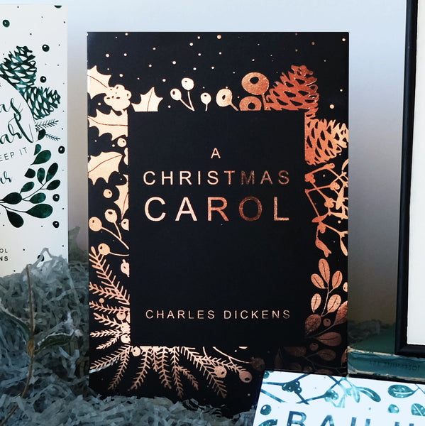A Christmas Carol Charles Dickens Book Cover Gift